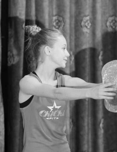 Girl Tap Dancing