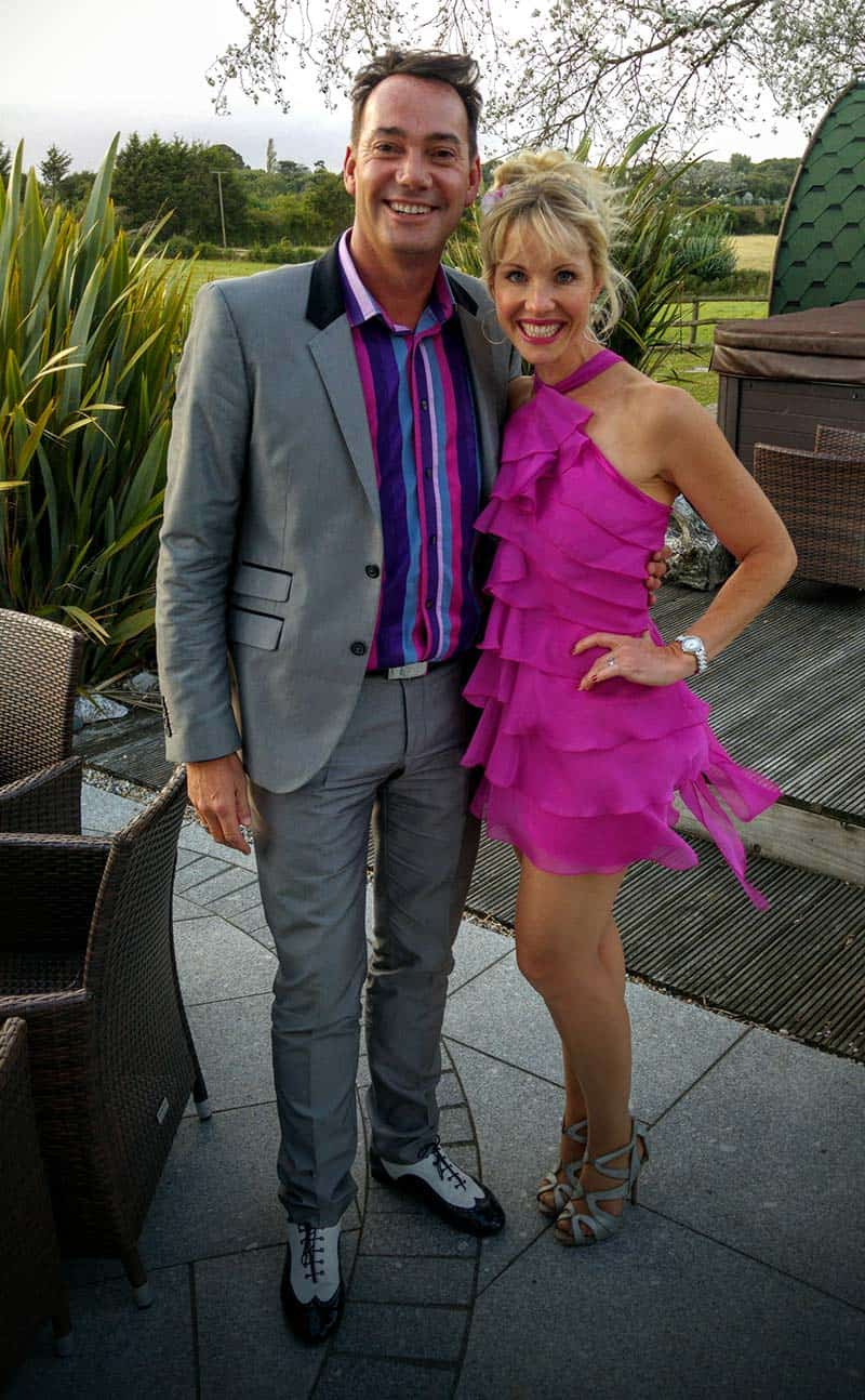 Craig Revel Horwood from BBC Strictly Come Dancing
